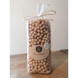 Echeveau de laine brune claire (race roux de berne)