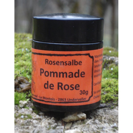 Baume à lèvres à la Rose