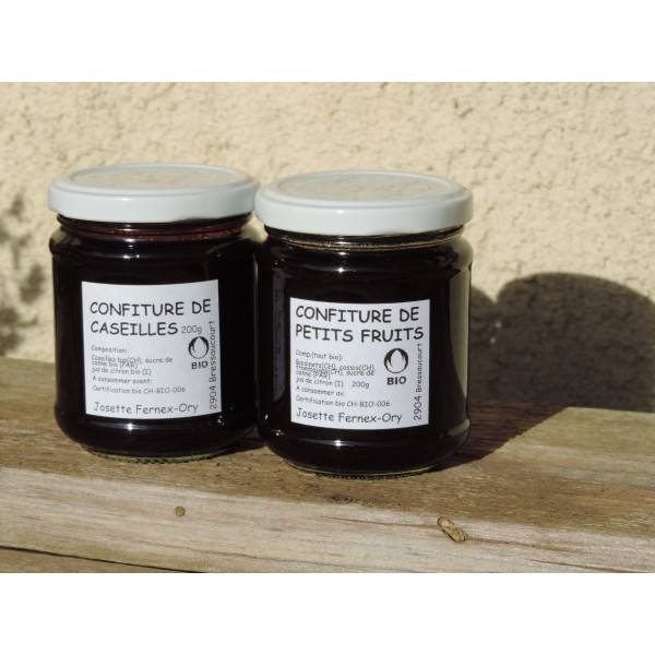 Confiture de petits fruits